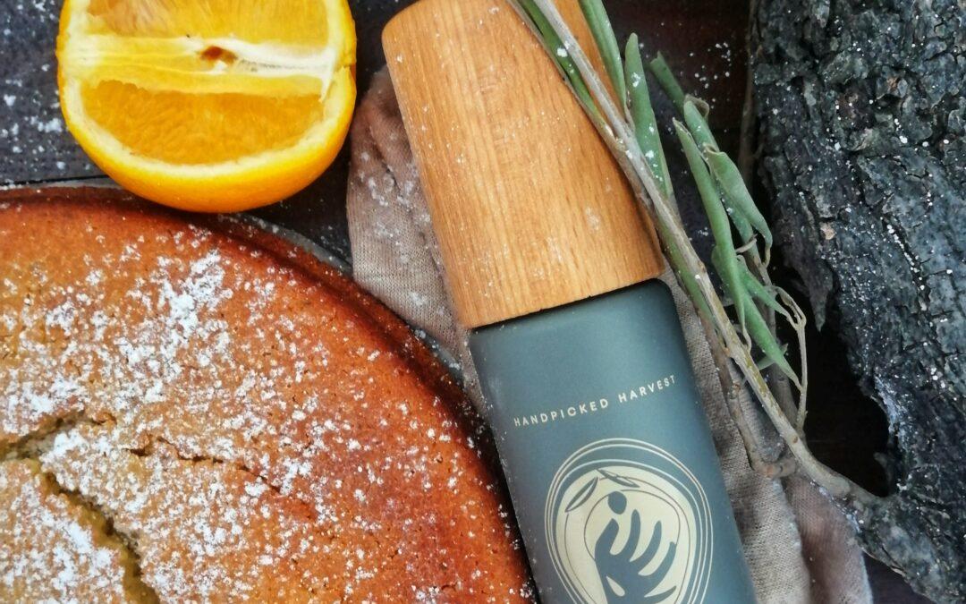 Orange-Rosmarin Olivenölkuchen